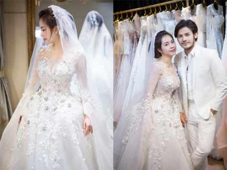 Lộ diện loạt váy cưới được thiết kế lộng lẫy của Vũ Ngọc Ánh