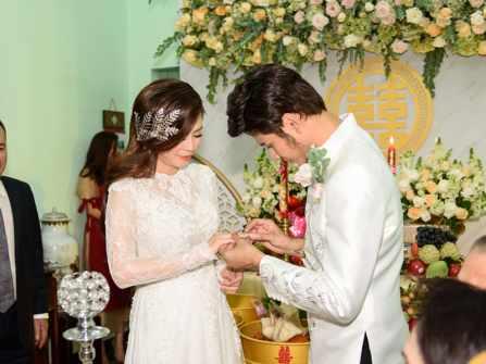 Toàn cảnh lễ rước dâu của cặp đôi diễn viên Vũ Ngọc Ánh - Anh Tài