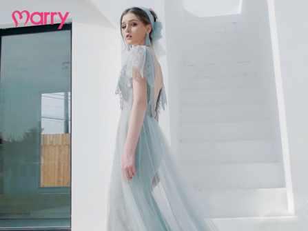 Những mẫu váy cô dâu Xuân - Hè 'gây bão' trong mùa cưới 2019