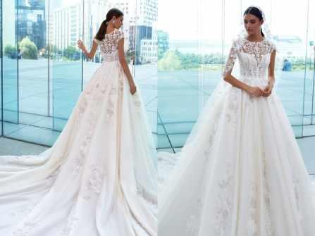 Váy cưới pha lê: Hóa nàng công chúa lộng lẫy trong ngày trọng đại