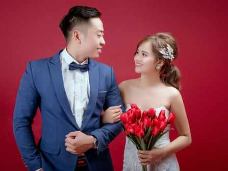 Bộ ảnh cưới đáng yêu của cô nàng