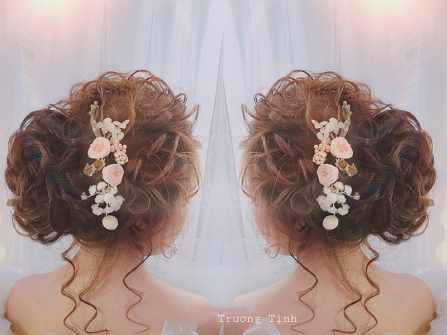 Tóc Đẹp Cho Nàng Dâu ngày cưới
