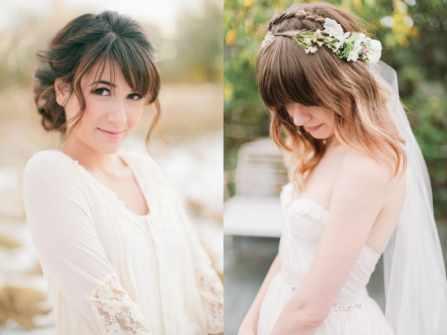 16 kiểu tóc cô dâu có mái đẹp lộng lẫy như nữ thần