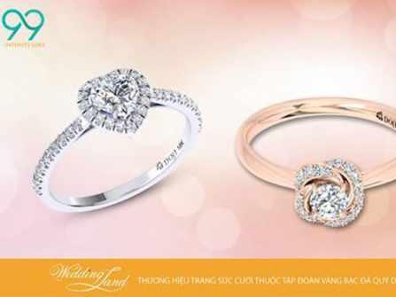 Trải nghiệm sắm nhẫn cưới tại Wedding Land, nhận ngay quà trăng mật