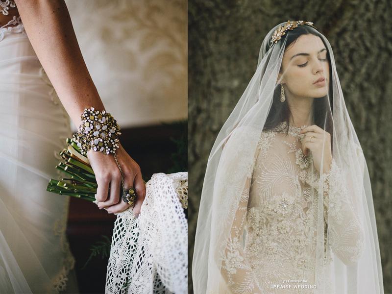 trang sức cưới bohemian 8