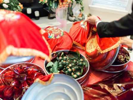 Mâm lễ ăn hỏi 9 tráp truyền thống miền Bắc gồm những gì?