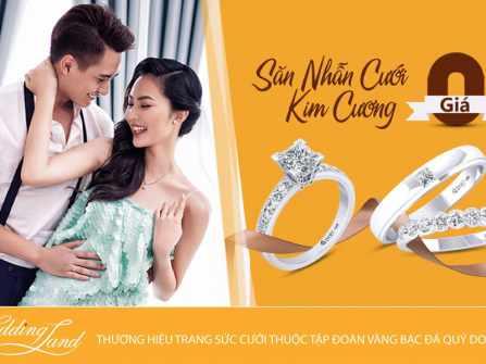 Tin hot cho mọi cặp đôi: Nhẫn cưới kim cương giá 0 đồng