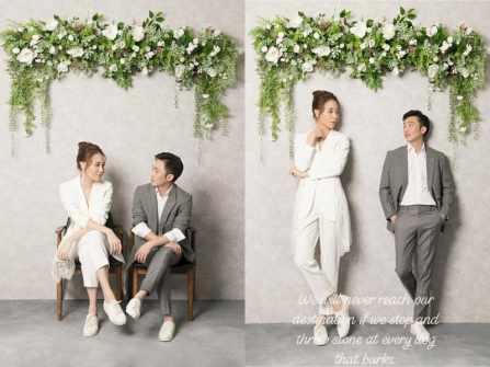 Cường Đô La chia sẻ ảnh cưới ngọt ngào bên Đàm Thu Trang