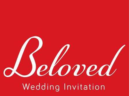 Thiệp cưới Beloved