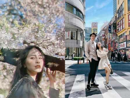 Ca nương Kiều Anh khoe ảnh cực tình với chồng đại gia tại Hàn Quốc