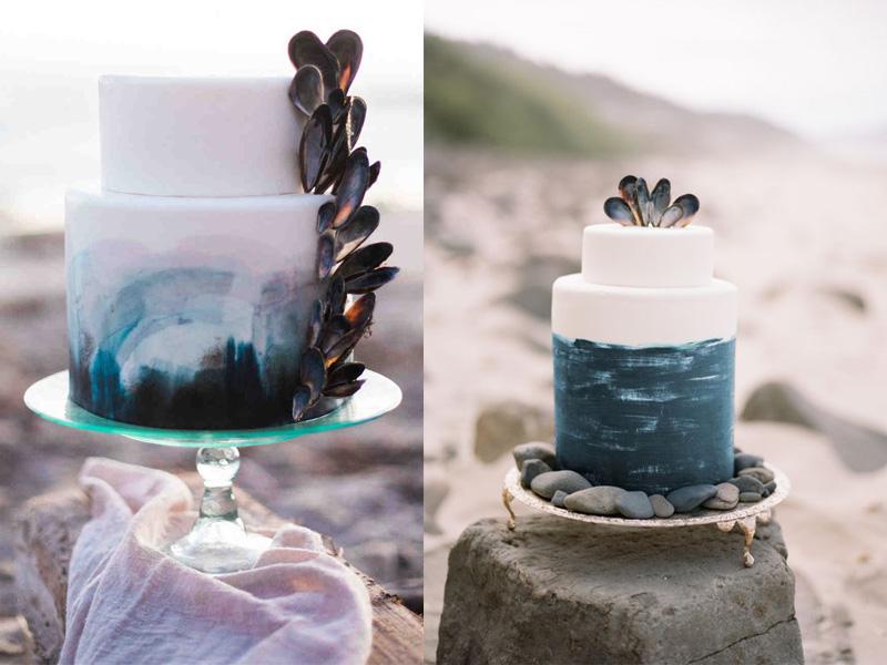 bánh cưới chủ đề đại dương 8