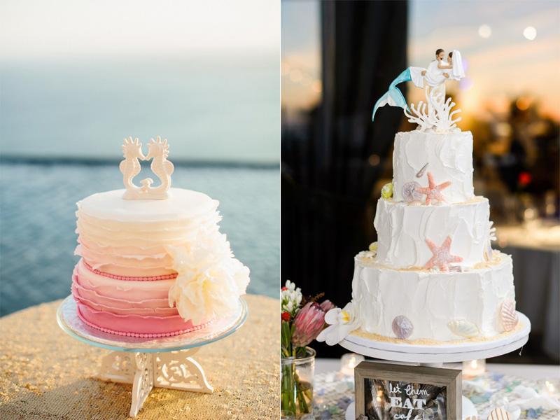 bánh cưới chủ đề đại dương 7