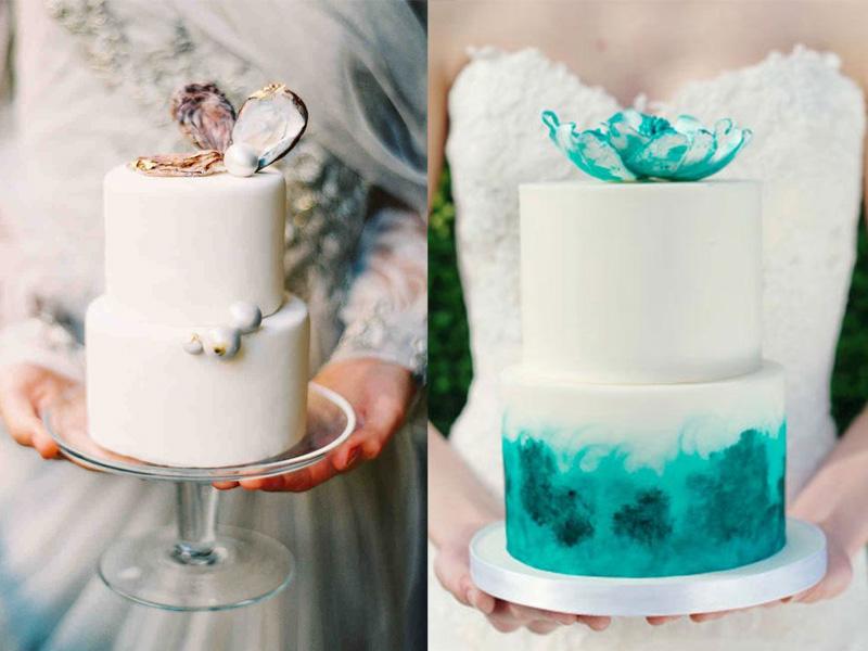 bánh cưới chủ đề đại dương 6