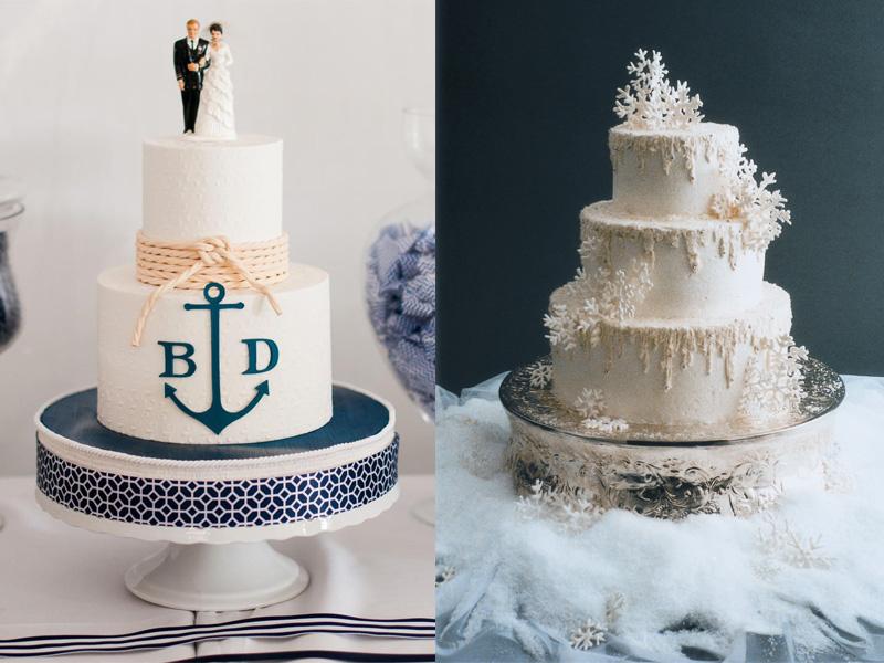bánh cưới chủ đề đại dương 3