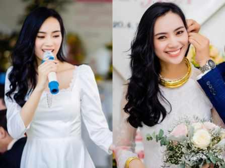 Á quân X Factor Trương Kiều Diễm rạng rỡ trong lễ đính hôn