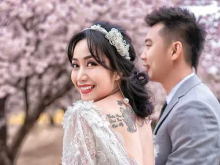 Bộ ảnh kỷ niệm 11 năm ngày cưới ngọt ngào của Ốc Thanh Vân