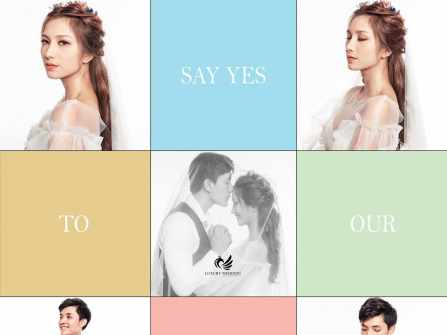 Chụp album cưới studio Hàn Quốc!
