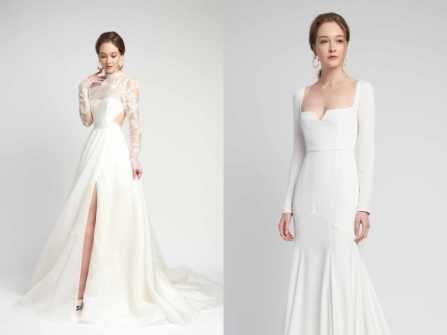 Kiêu sa từng centimet với BST váy cưới Alexandra Grecco Spring 2020