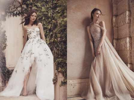 Quý phái tột bậc với BST váy cưới Monique Lhuillier Bridal Spring 2020