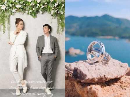 """Đàm Thu Trang khoe nhẫn cưới trước ngày """"về dinh"""" với Cường Đô La"""