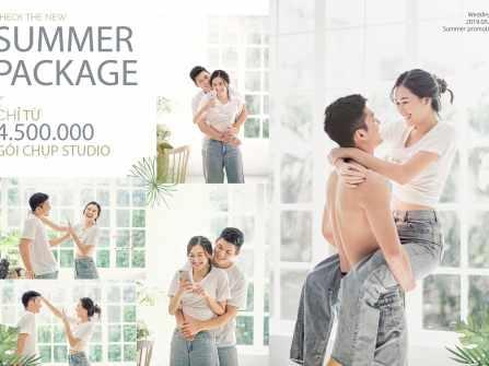 Summer Package - Gói chụp Studio chỉ còn 4,500,000