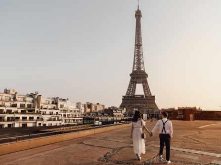 Elopement tại Paris Thuỷ và Thuận