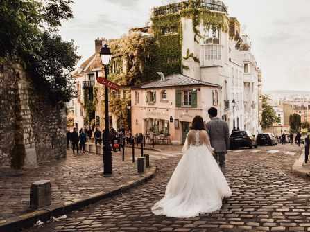 Ảnh cưới tại Paris Hoàng Anh và Bách