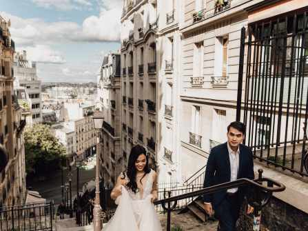 Ảnh cưới tại Paris Nga - Triệu
