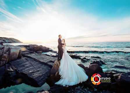 Chụp ảnh cưới đẹp mê hồn ở Hang Rái Vĩnh Hy – Ninh Thuận