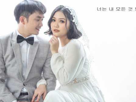 Ảnh cưới đẹp phim trường Secret  Garden