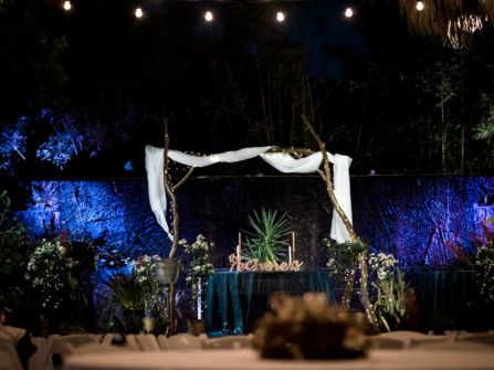 Khác lạ với tiệc cưới phong cách miền nhiệt đới