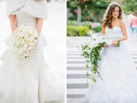 Những kiểu hoa cưới cầm tay được các cô dâu ưa chuộng nhất hiện nay