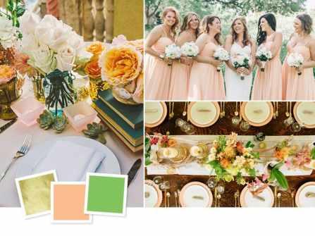 Top 9 sự kết hợp màu sắc độc đáo cho đám cưới