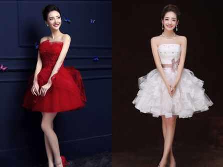 Những bộ váy cưới ngắn cho cô dâu thích khác biệt