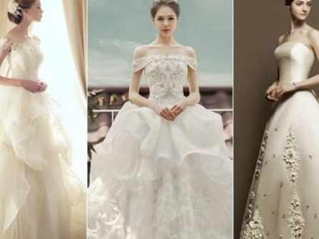 Những kiểu tay áo cưới phổ biến mà cô dâu nên biết để chọn
