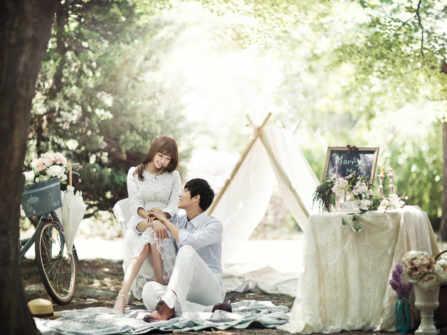 Bí quyết chụp ảnh cưới phong cách Hàn Quốc thật tự nhiên