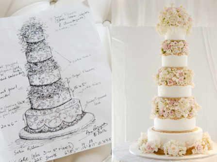 Làm thế nào để chọn được một chiếc bánh cưới đẹp mà chất lượng?