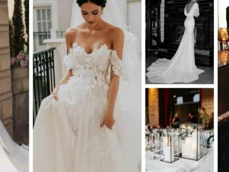 Bắt nhịp xu hướng phong cách cưới và màu cưới phù hợp trong năm 2020