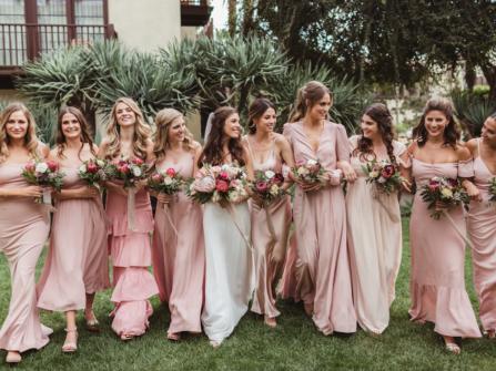 22 ý tưởng trang phục váy phù dâu cho mùa thu (P1)