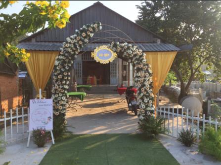 Cho thuê cổng hoa cưới hỏi