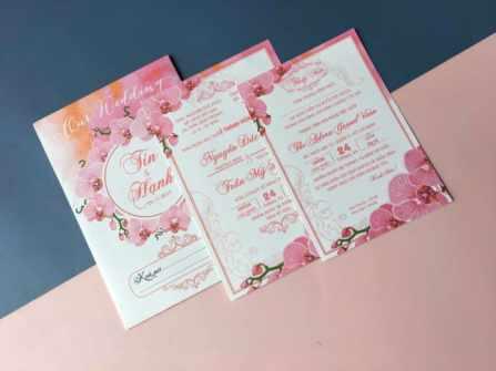 Thiệp cưới giá rẻ 2k5 - 3k5 năm 2020