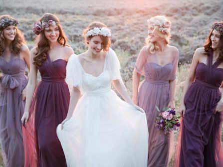 Màu sắc đám cưới 2020: bạn có từng nghĩ đến Ultra Violet?