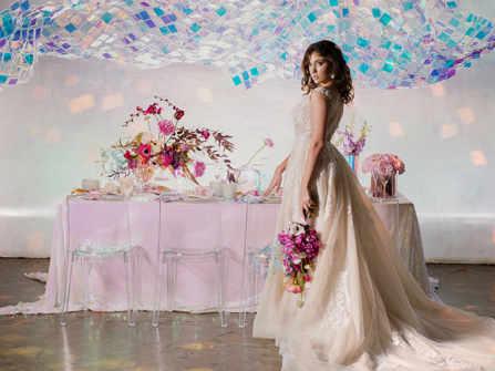 6 ý tưởng cưới mới mẻ cho năm 2020 sử dụng sắc màu óng ánh