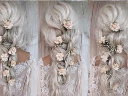 Hướng dẫn cách thực hiện 18 kiểu tóc cưới ấn tượng cho cô dâu tự làm tại nhà