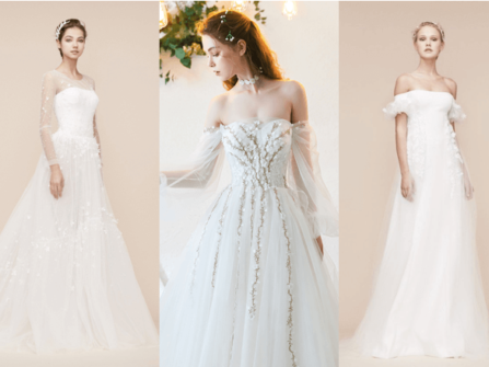 Chọn váy cưới cho cô dâu gầy dễ dàng chỉ với 5 nguyên tắc