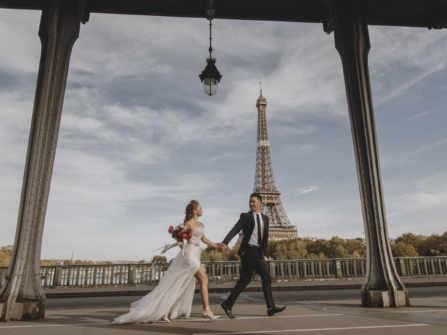 Ảnh cưới đẹp | Tháp Eiffel | Paris
