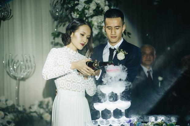 Vợ chồng Giang Ơi - Trị Nguyễn kết hôn hồi tháng 2/2019.