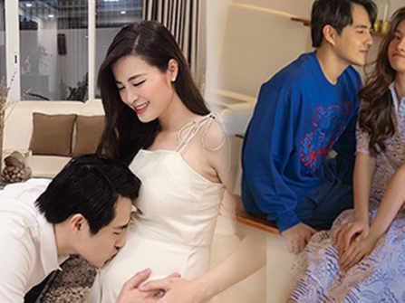 Em bé của Đông Nhi biết đạp khiến cả ba và mẹ vô cùng hạnh phúc, Ông Cao Thắng ghen tị với vợ mình khiến khán giả dở khóc dở cười
