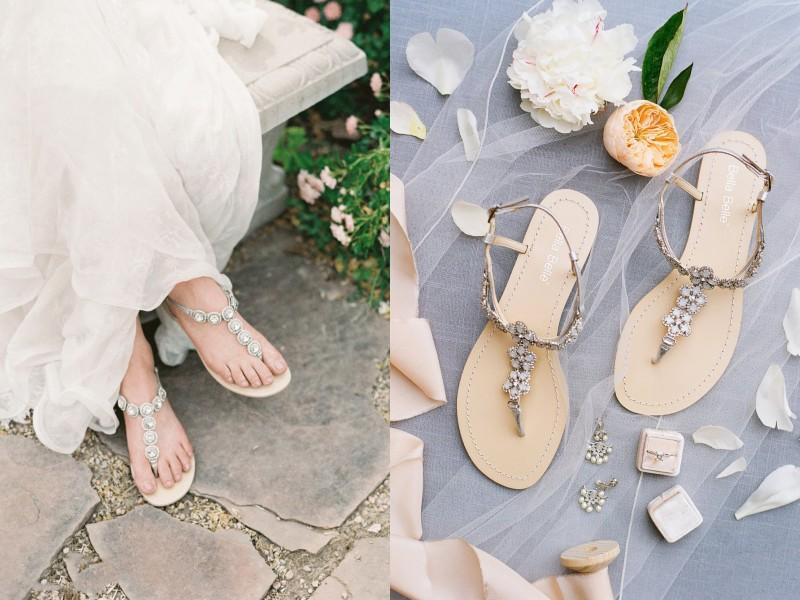 Chọn giày theo địa điểm tổ chức đám cưới Marry
