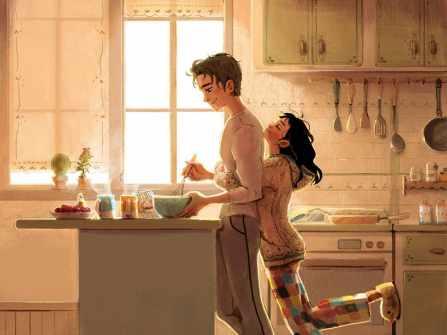 """""""Tan chảy"""" trước bộ tranh tình yêu siêu dễ thương về những điều nhỏ bé chỉ những cặp đôi yêu nhau thực sự mới có"""